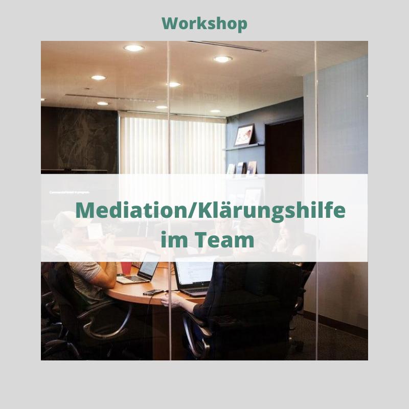 Workshop Klärungshilfe im Team